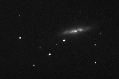 galaxy M82 photo taken June 2012