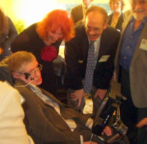 Carl Pennypacker and Stephen Hawking
